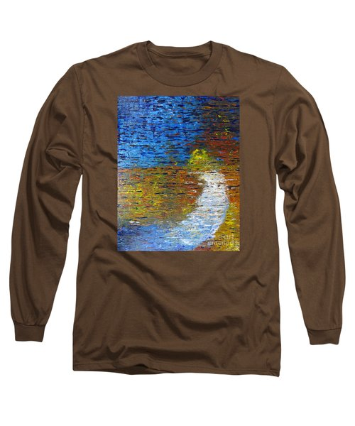 Long Sleeve T-Shirt featuring the painting Autumn Reflection by Jacqueline Athmann