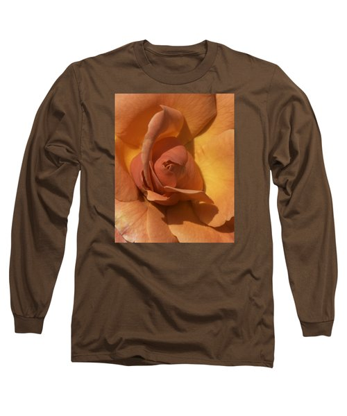 Autumn Rose Long Sleeve T-Shirt by Cathy Donohoue