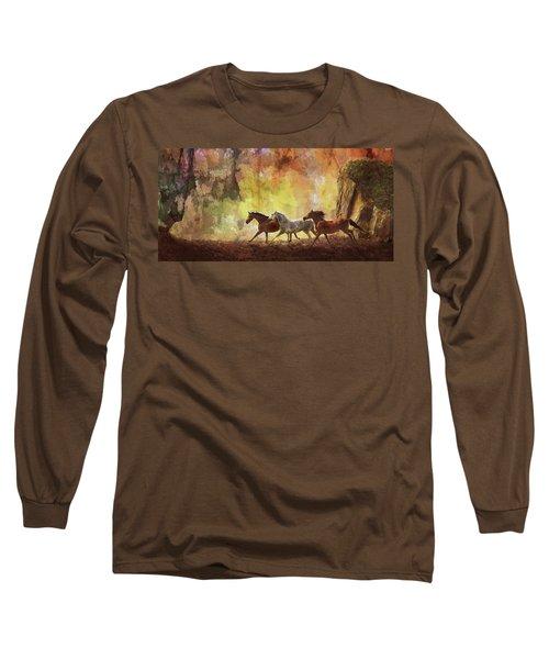 Autumn Run Long Sleeve T-Shirt