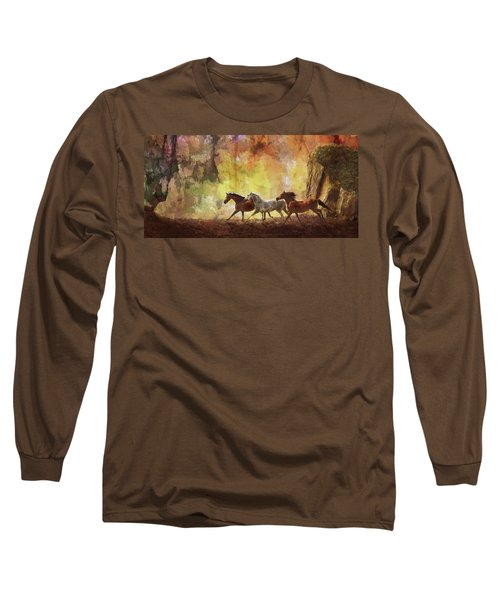 Autumn Run Long Sleeve T-Shirt