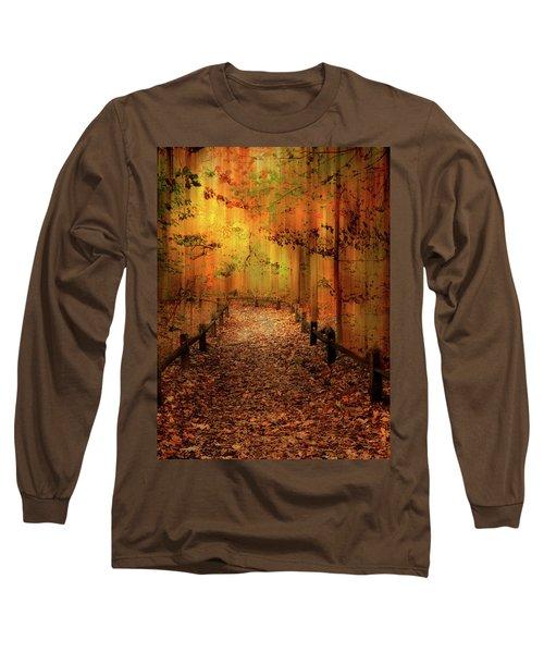 Autumn Silkscreen Long Sleeve T-Shirt