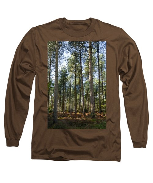 Autumn Tranquil Forest Long Sleeve T-Shirt