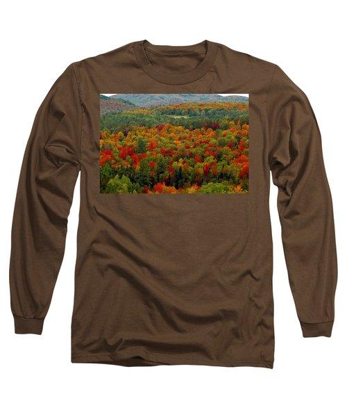 Autumns Colors Long Sleeve T-Shirt