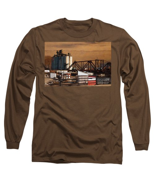 Available Long Sleeve T-Shirt by David Blank