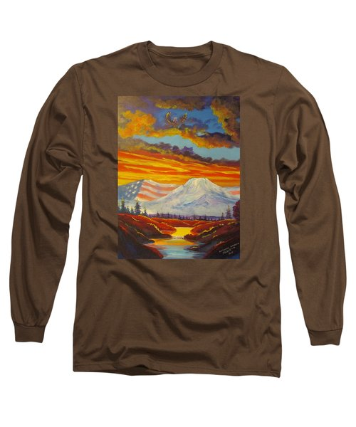 Awesome America Long Sleeve T-Shirt