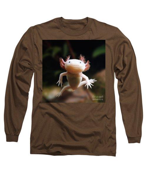 Axolotl Face Long Sleeve T-Shirt
