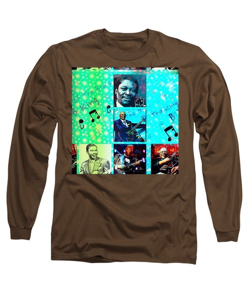 B B King Of The Blues  Long Sleeve T-Shirt