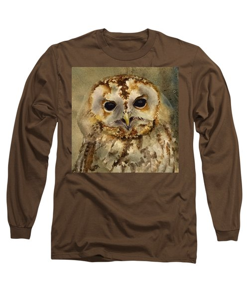 Baby Barred Owl Long Sleeve T-Shirt