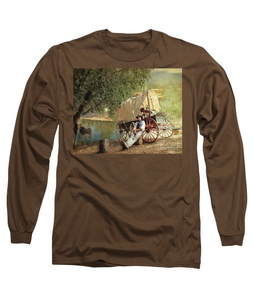 Back Country Camp Out Long Sleeve T-Shirt