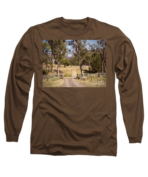 Back Country Farm Track Long Sleeve T-Shirt
