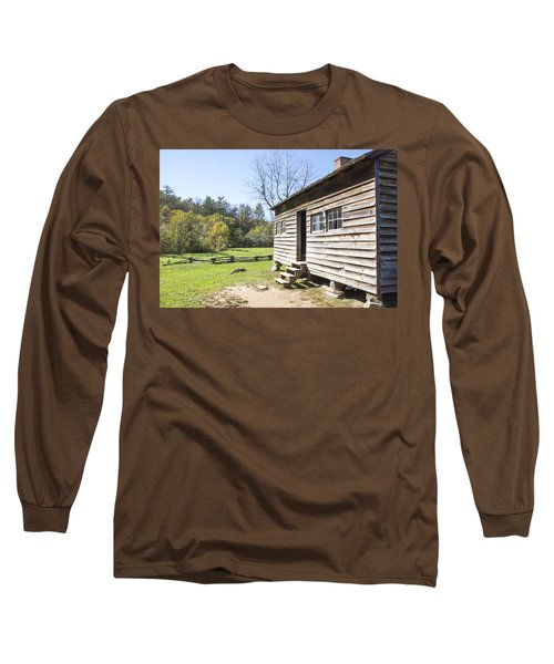 Back Porch Long Sleeve T-Shirt by Ricky Dean