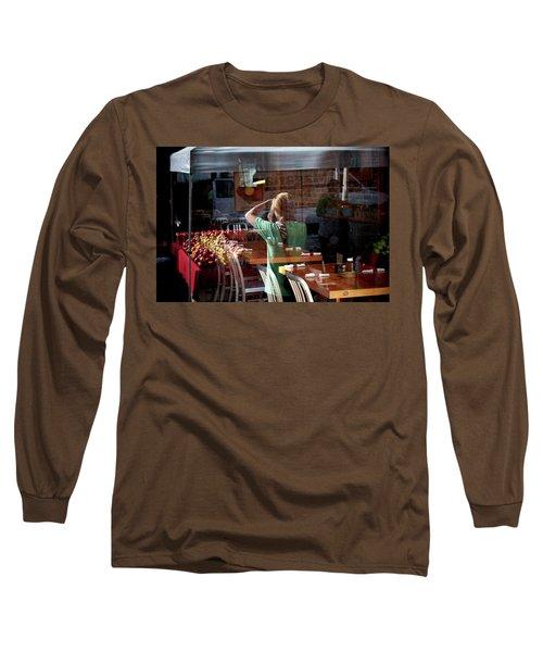 Ballard Market #2 Long Sleeve T-Shirt