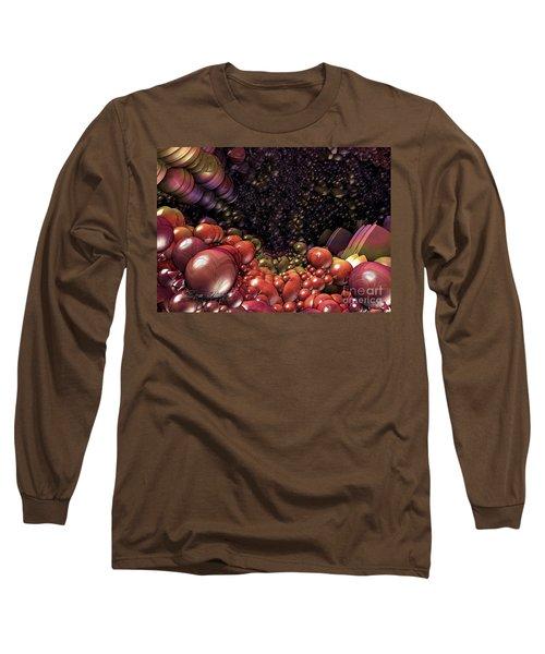 Ballsville Long Sleeve T-Shirt by Melissa Messick
