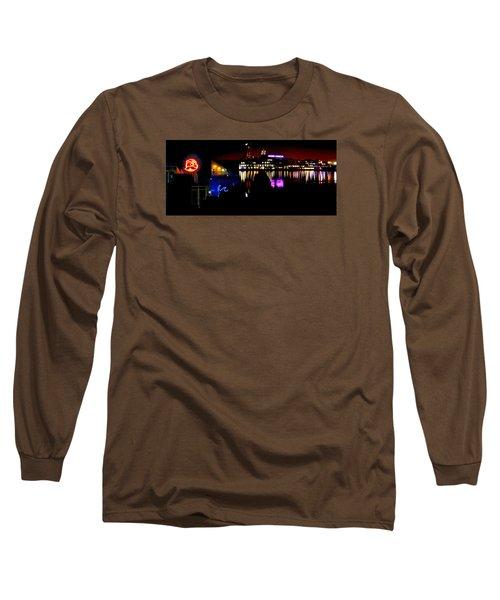 Baltimore Night Mosaic Long Sleeve T-Shirt