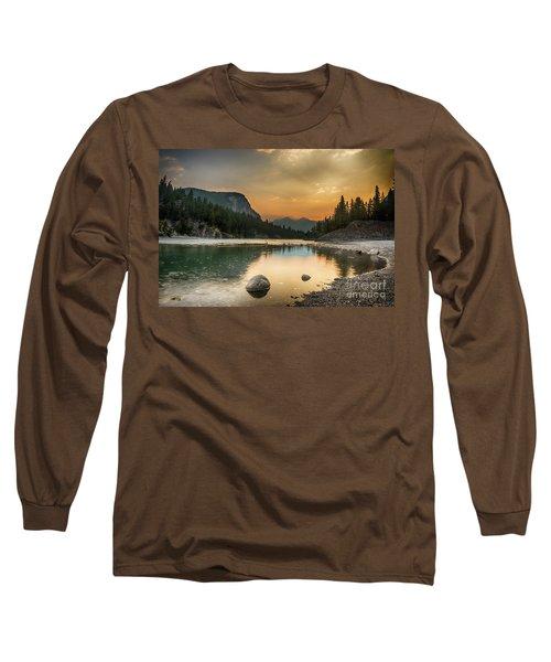 Banff Sunrise Long Sleeve T-Shirt