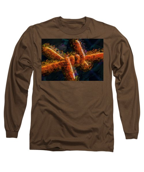 Barbed Long Sleeve T-Shirt by Paul Wear