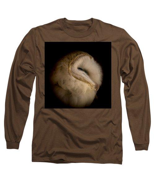 Barn Owl 6 Long Sleeve T-Shirt by Ernie Echols
