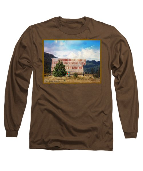 Barn Quilt Americana Long Sleeve T-Shirt