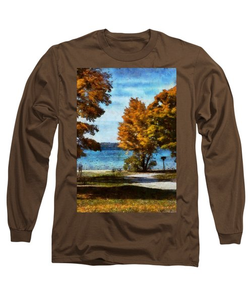 Bass Lake October Long Sleeve T-Shirt