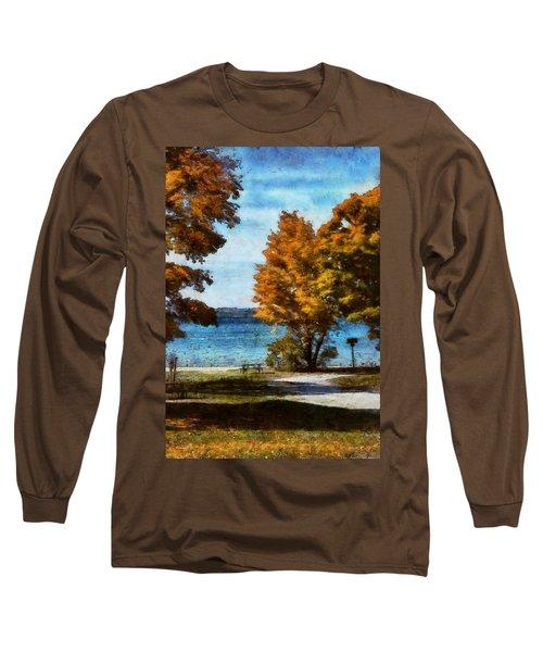 Bass Lake October Long Sleeve T-Shirt