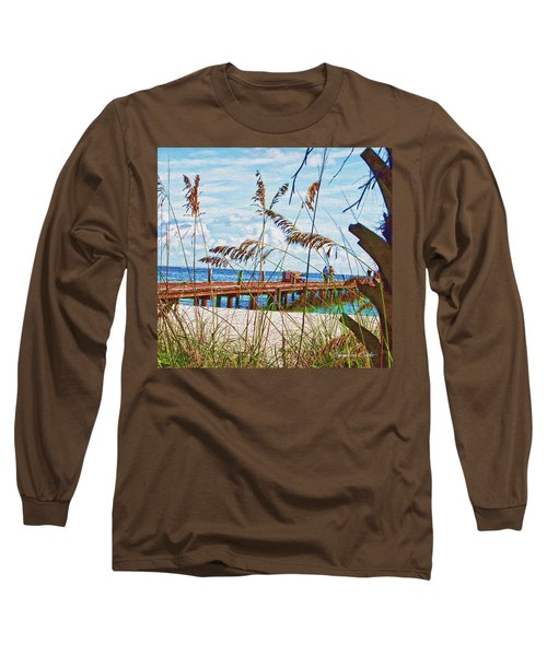 Beach Walk Long Sleeve T-Shirt