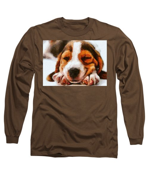 Beagle Puppy Long Sleeve T-Shirt