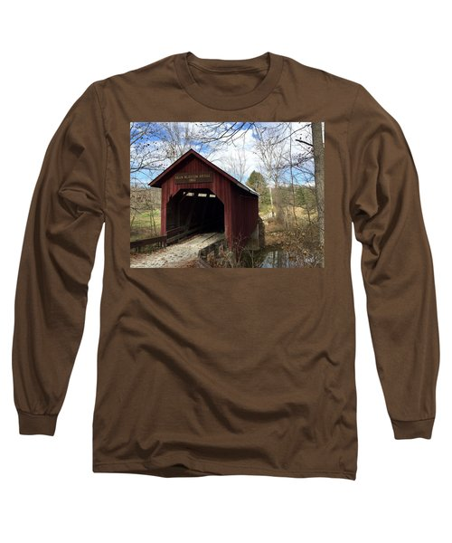 Bean Blossom Bridge, 1880 Long Sleeve T-Shirt