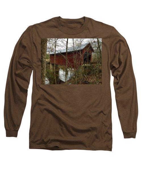 Bean Blossom Bridge Long Sleeve T-Shirt