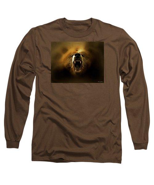 Bear Roar Long Sleeve T-Shirt by Lilia D