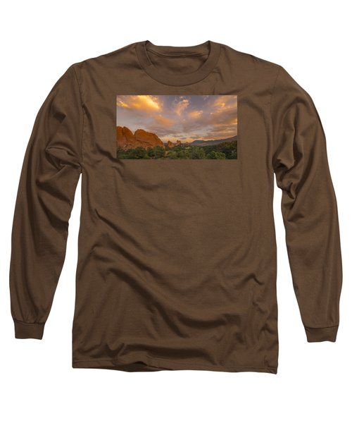 Beautiful Earth And Sky Long Sleeve T-Shirt by Tim Reaves