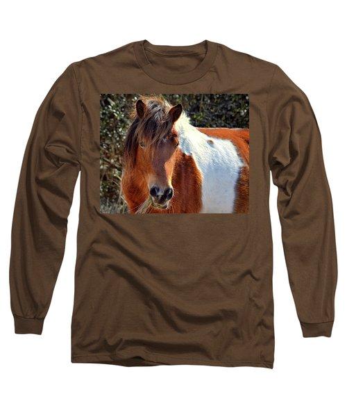 Beautiful Mare Ms. Macky Long Sleeve T-Shirt