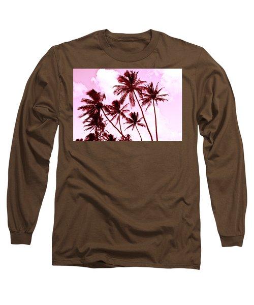 Beautiful Palms Of Maui 13 Long Sleeve T-Shirt