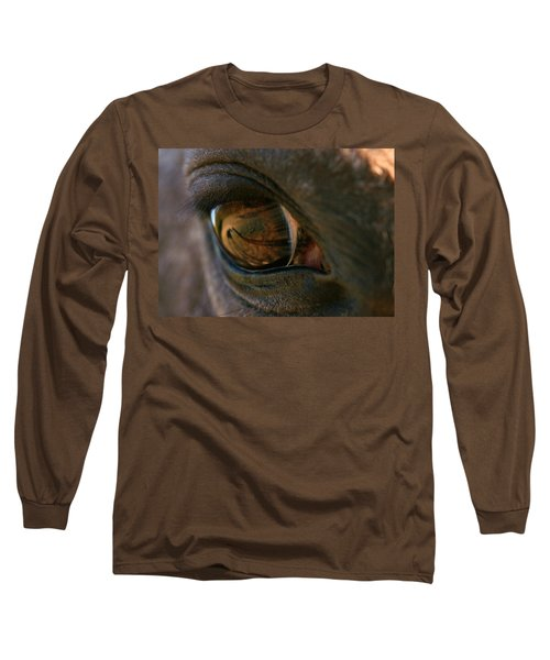 Beauty Is In The Eye Of The Beholder Long Sleeve T-Shirt by Angela Rath