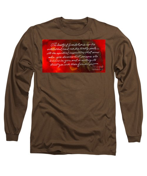 Beauty Of Friendship Long Sleeve T-Shirt