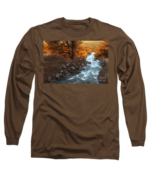 Beauty Of The Nature Long Sleeve T-Shirt by Charuhas Images