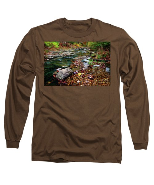 Beaver's Bend Tiny Stream Long Sleeve T-Shirt