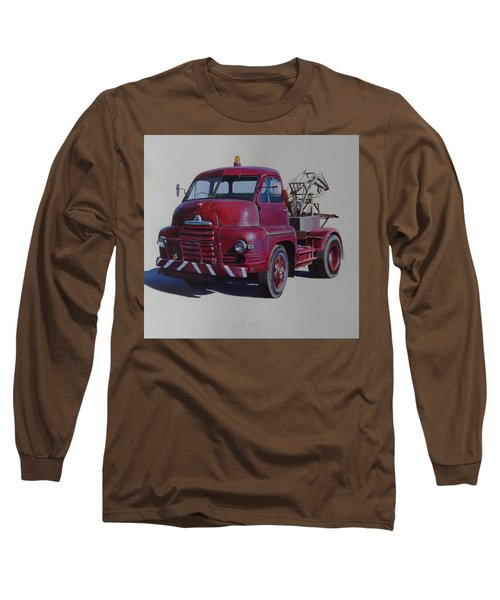 Bedford S Type Wrecker. Long Sleeve T-Shirt by Mike  Jeffries