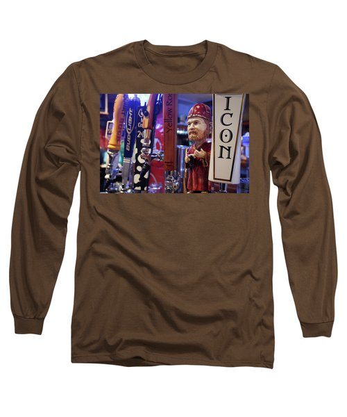 Beer Taps Long Sleeve T-Shirt by Tim Stanley