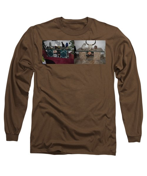 Before And After Long Sleeve T-Shirt by Val Oconnor
