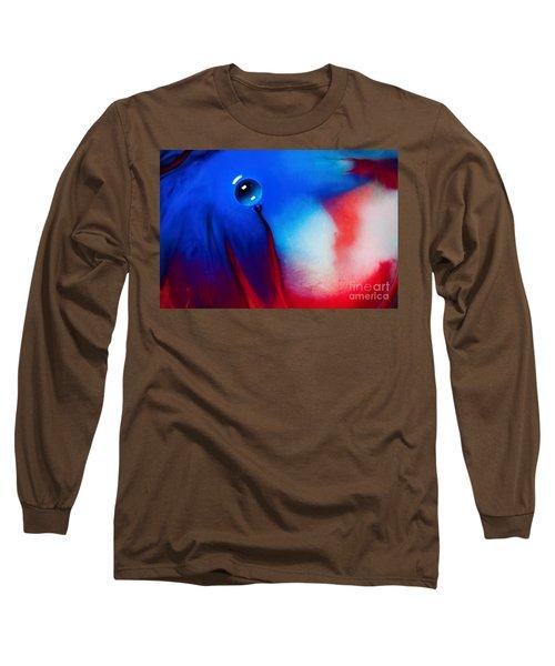 Behind Blue Eye Long Sleeve T-Shirt