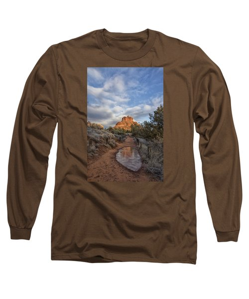 Bell Rock Beckons Long Sleeve T-Shirt by Tom Kelly
