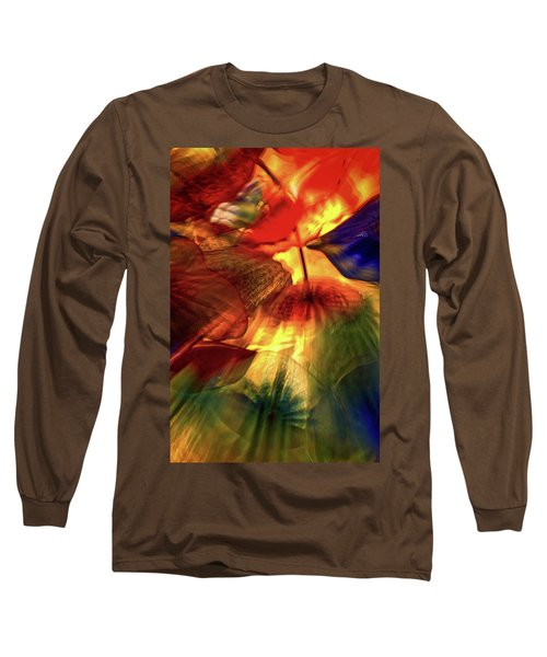 Bellagio Ceiling Sculpture Abstract Long Sleeve T-Shirt by Stuart Litoff