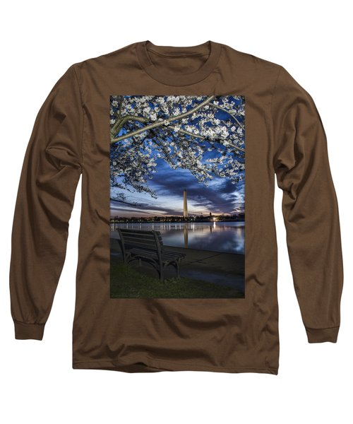 Bench With A View Long Sleeve T-Shirt