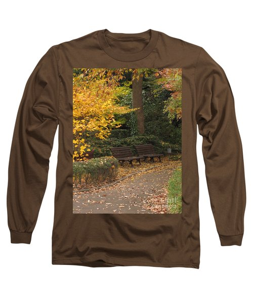 Benches In The Park Long Sleeve T-Shirt