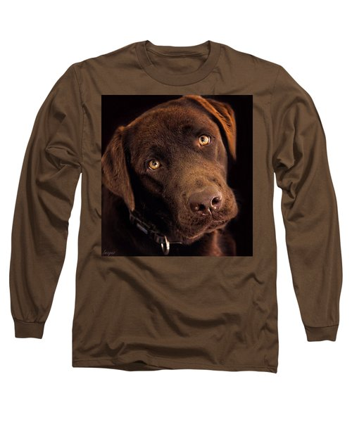 Long Sleeve T-Shirt featuring the photograph Benji by Wallaroo Images