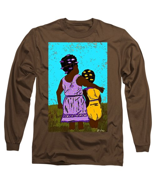 Best Friends Long Sleeve T-Shirt by Saundra Myles