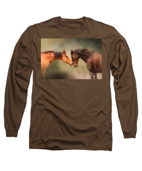 Best Friends - Two Horses Long Sleeve T-Shirt