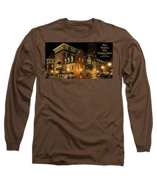 Best Western Plus Windsor Hotel - Christmas -2 Long Sleeve T-Shirt