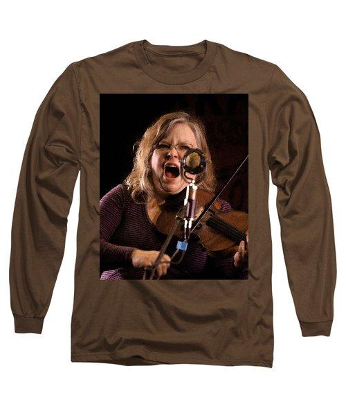 Betse Ellis Long Sleeve T-Shirt by Jim Mathis
