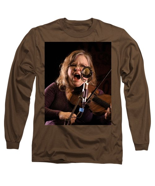 Long Sleeve T-Shirt featuring the photograph Betse Ellis by Jim Mathis
